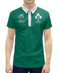 <b>Рубашка Поло</b> с полной запечаткой <b>Ирландия</b> регби - <b>Printio</b>