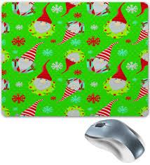 """Коврик для мышки """"<b>Снежинки</b>"""" #2622126 от ZoZo - <b>Printio</b>"""