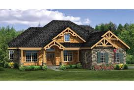 ePlans Craftsman House Plan   Craftsman Ranch With Finished    Front