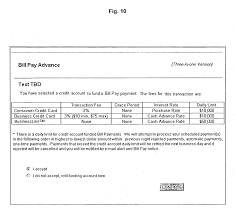patent us system and method for bill pay credit patent drawing
