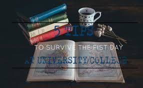 tips to survive first day at university college the wolf i know that if i was left alone the first day i went to a class i wouldn t have met some amazing people so take a deep breath and let s get started