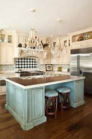Turquoise Kitchen Kitchen Room Shabby Chic Tile Backsplash Overlooking Pretentious