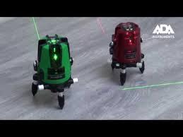 Обзор лазерных уровней <b>ADA 3D LINER</b> 2V/4V GREEN - YouTube