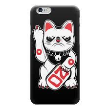 "<b>Чехол для iPhone</b> 6 глянцевый ""Bad Cat"" от Leichenwagen - <b>Printio</b>"