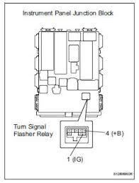 toyota rav4 service manual turn signal light circuit data list toyota rav4 check wire harness battery turn signal flasher relay