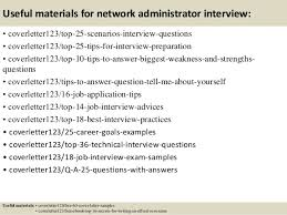 13 useful materials for network administrator cover letter network administrator