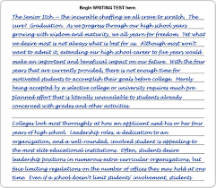 eknowledge   save money and get the test score you deserve writing sample  page