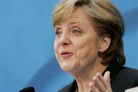 Kanclerz Angela Merkel i Peer Steinbrück, jej główny rywal w wyborach ... - angela-merkel
