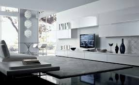beautiful white black wood glass unique design modern tv units for living room white wall paint beautiful white living room