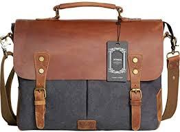 Wowbox <b>Messenger</b> Satchel <b>Bag</b> for Men and <b>Women</b>,<b>Vintage</b>