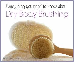 Image result for dry brushing
