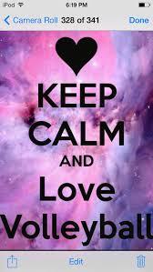 <b>Keep calm and love</b> volleyball | Vôlei tumblr, Treinamento de volei ...