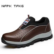 big size men fashion breathable steel toe cap working <b>safety shoes</b> ...