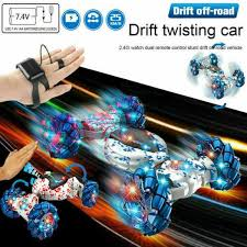 Remote Control Off-Road <b>Gesture</b> Sensing 4WD Double Sided Flip ...