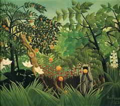 <b>Exotic Landscape</b>, 1910 - <b>Henri Rousseau</b> - WikiArt.org