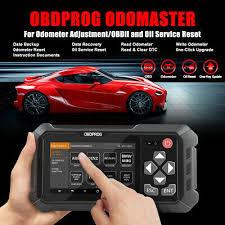 <b>OBDPROG M500 OBD2 Scanner</b> Mileage Odometer Correction ...