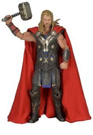 Figura Thor: El Mundo Oscuro. <b>Thor 46</b> cm. Escala 1/4. NECA | Thor ...