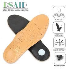 <b>Premium</b> Leather <b>Orthopedic</b> Insole Antibacterial Active   Shopping ...