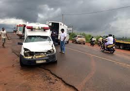 Resultado de imagem para acidente com ambulancia