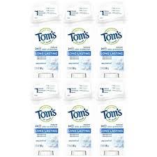 Tom's of Maine Natural Deodorant Stick, Unscented ... - Amazon.com