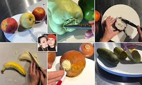 Talented bakers create <b>realistic</b> looking <b>fruit and</b> vegetables made ...