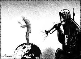 Risultati immagini per daesh cartoon