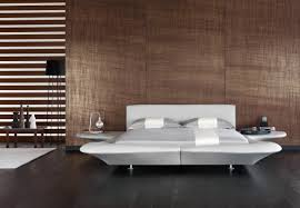 natural wooden dominated color inside bedroom wood wall panel