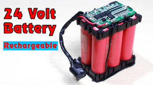 How to make <b>24V</b> RECHARGEABLE <b>BATTERY</b> - 6s lithium ion ...