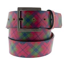 Plaid Belt: Watermelon (Jon Wye) LOVE THE PLAID!!!! | Accessories ...