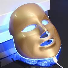 <b>Photon LED Facial Mask</b> Skin Rejuvenation Therapy Face Massage ...