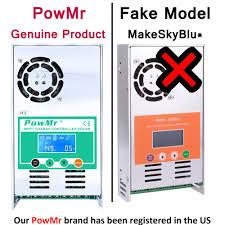 PowMr MPPT <b>60A 50A 40A 30A</b> Solar Charge and Discharge ...