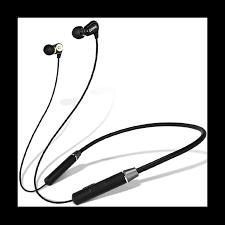 <b>Lenovo HE08 Wireless</b> Neckband Earphone - Black   E-valy Limited ...