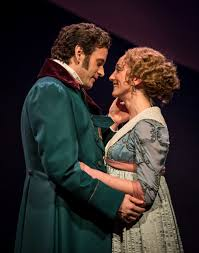 theater review sense and sensibility chicago shakespeare theater this solitary widower wayne wilcox and sharon rietkerk in sense and sensibility at chicago shakespeare theater photo by