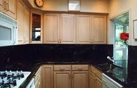 black marble kitchen
