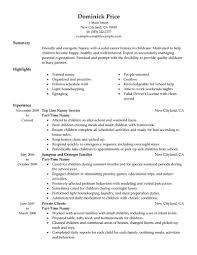 best simple nanny resume samples vntask com best simple nanny resume samples friendly and energetic nanny a sample resume for a job