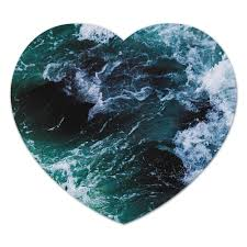 """Коврик для мышки (сердце) """"Бескрайнее <b>море</b>"""" #2693090 от ..."""