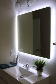 behind mirror lighting. bathroom mirror lighting placement for the impressive behind n