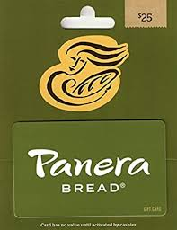 Panera Bread Gift Card $25: Gift Cards - Amazon.com