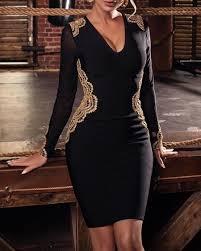 <b>Women's Fashion Long Sleeves</b> Dresses Online Shopping – Chic Me