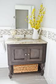 pottery barn inspired sink console awesome pottery barn bathroom vanity decor