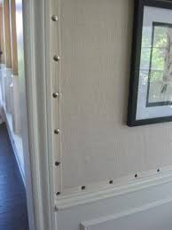 this is really cool cover a wall with burlap put twill tape around or cheap office storage
