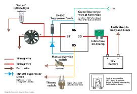 relay wiring diagram diode wiring diagram schematics inline switch two lights to battery wiring diagram nilza net