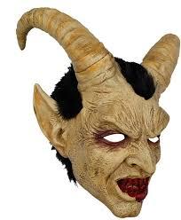 YaPin Human Face Lucifer <b>Mask Cosplay</b> Hood American ...