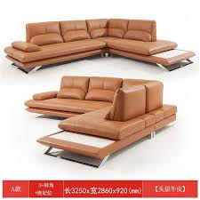 real genuine leather sectional <b>sofa</b> electric <b>recliner</b> Living Room ...