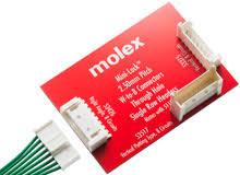 <b>Разъемы</b> «<b>провод</b>-плата» — Molex