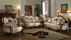 french provincial formal antique style living room furniture set beige chenille antique style living room furniture
