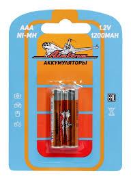 <b>Батарейки AAA</b> HR03 <b>аккумулятор</b> Ni-Mh 1200 mAh 2шт., купить ...