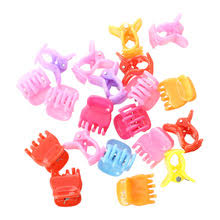 20 Красочные ассорти мини-небольшой Пластик Заколки для ...