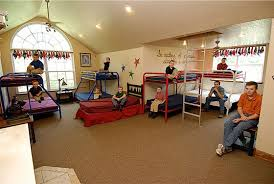 Kids  amp  Counting  quot  The Duggar Family Home in Arkansas   Hooked    The Boys     Bedroom   beds