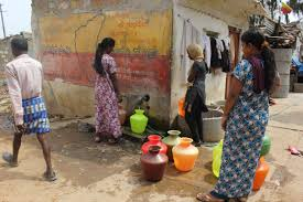 urban dualities policy forum in notified slums the situation is relatively better situated on bannerghatta road the slum above had amenities such as a common water filling area and